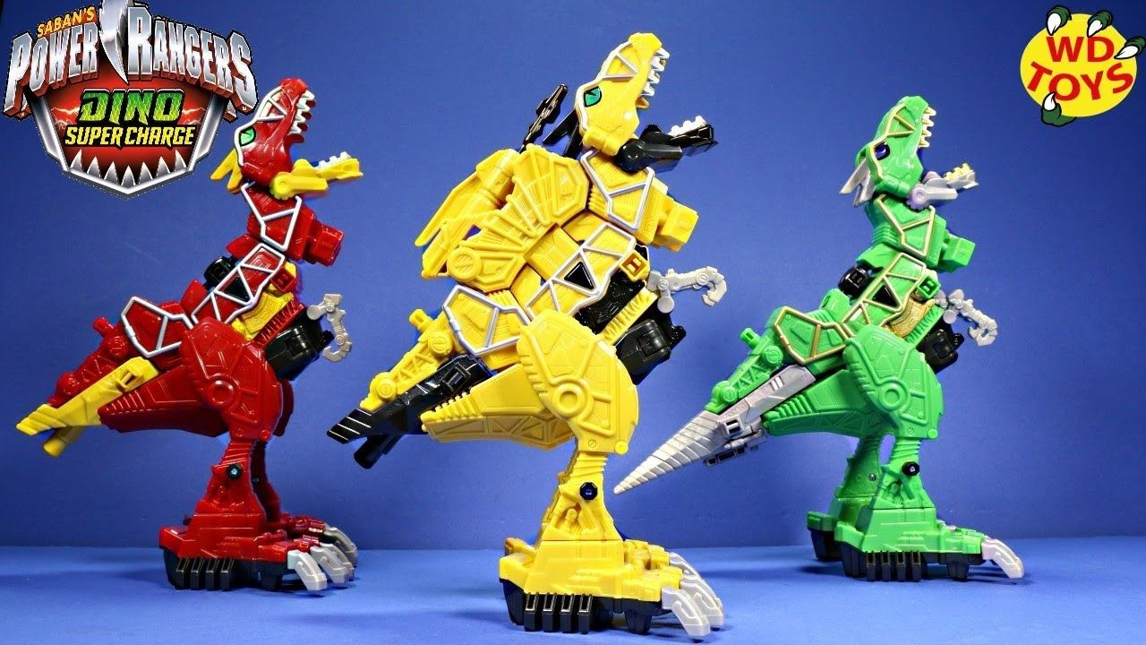 Dino Action Figures Super Charge Limited Edition Deluxe TRex Zord
