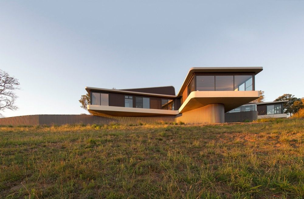 High Country House Modern Countryside House With Unique