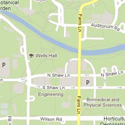 Interactive Campus Map Michigan State University Go Green - Interactive map msu