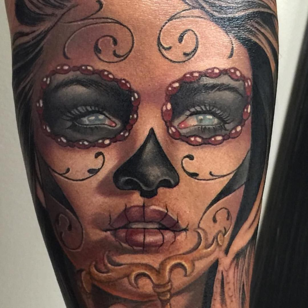Sugar Skull Girl Sugar Skull Tattoos Baby Tattoos Tattoo Artists