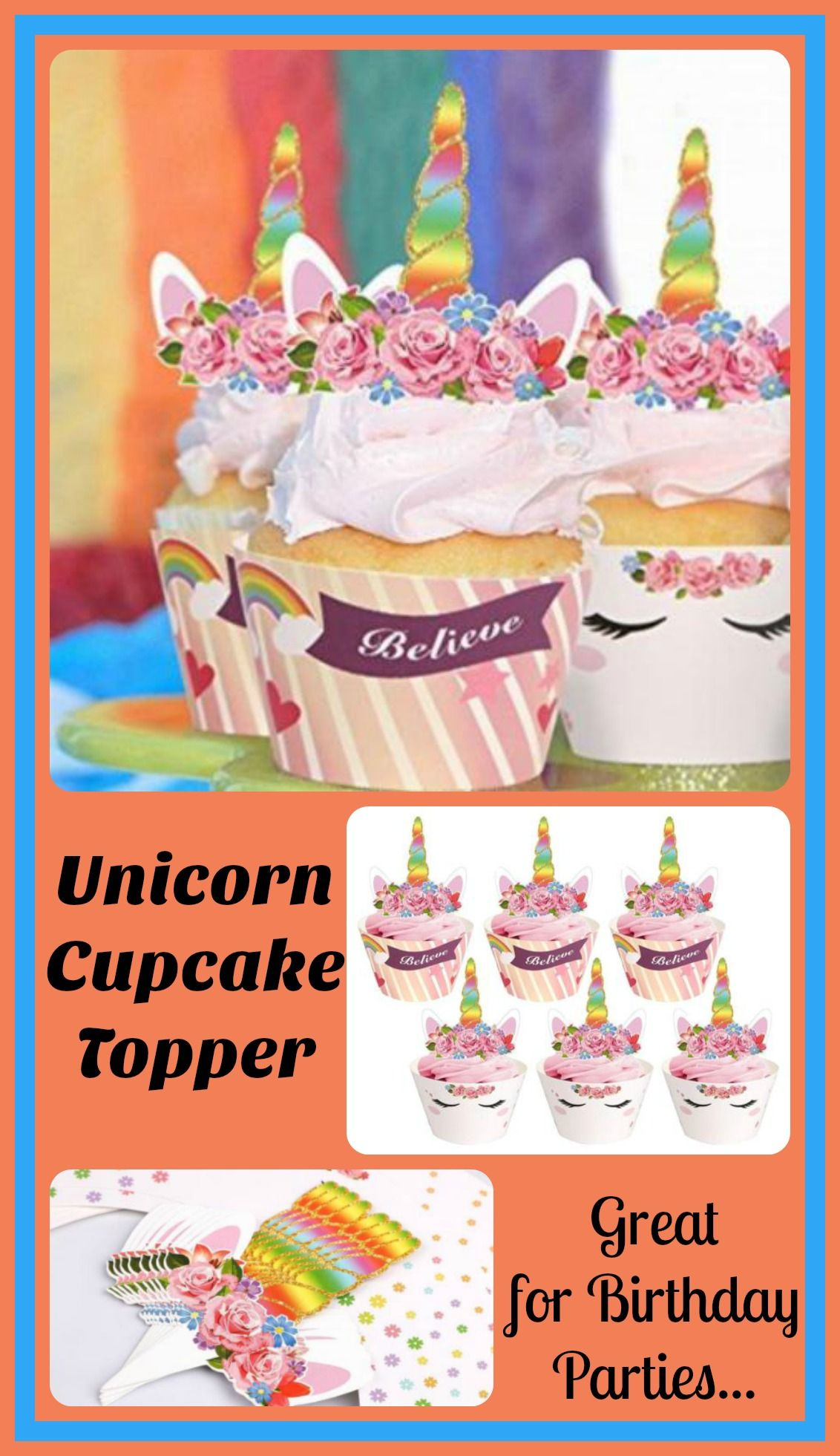 Oooh la la add these magical unicorn cupcake wrappers to