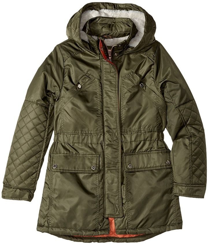 30794231903a Urban Republic Kids - Poly-Twill Anorak with Quilted Lining Girl s ...