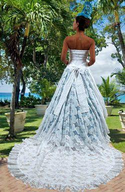 Robe de Mariée mariage Paris en vente sur la boutique Dodyshop spécialisée  dans la vente de vêtements traditionnels créoles. Une collection unique  inspirée