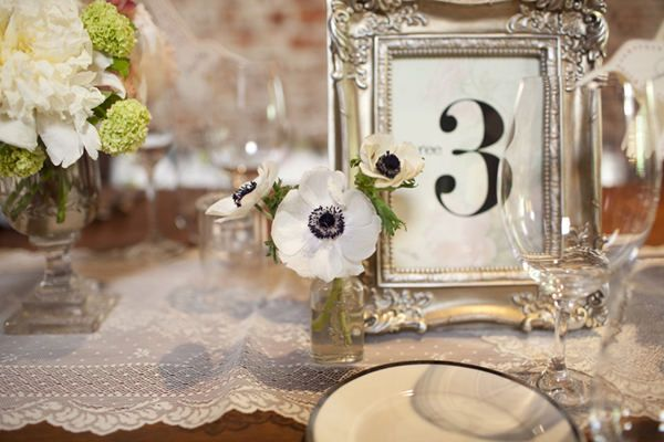 Los Angeles Wedding by Our Labor of Love by Heidi | Table numbers ...