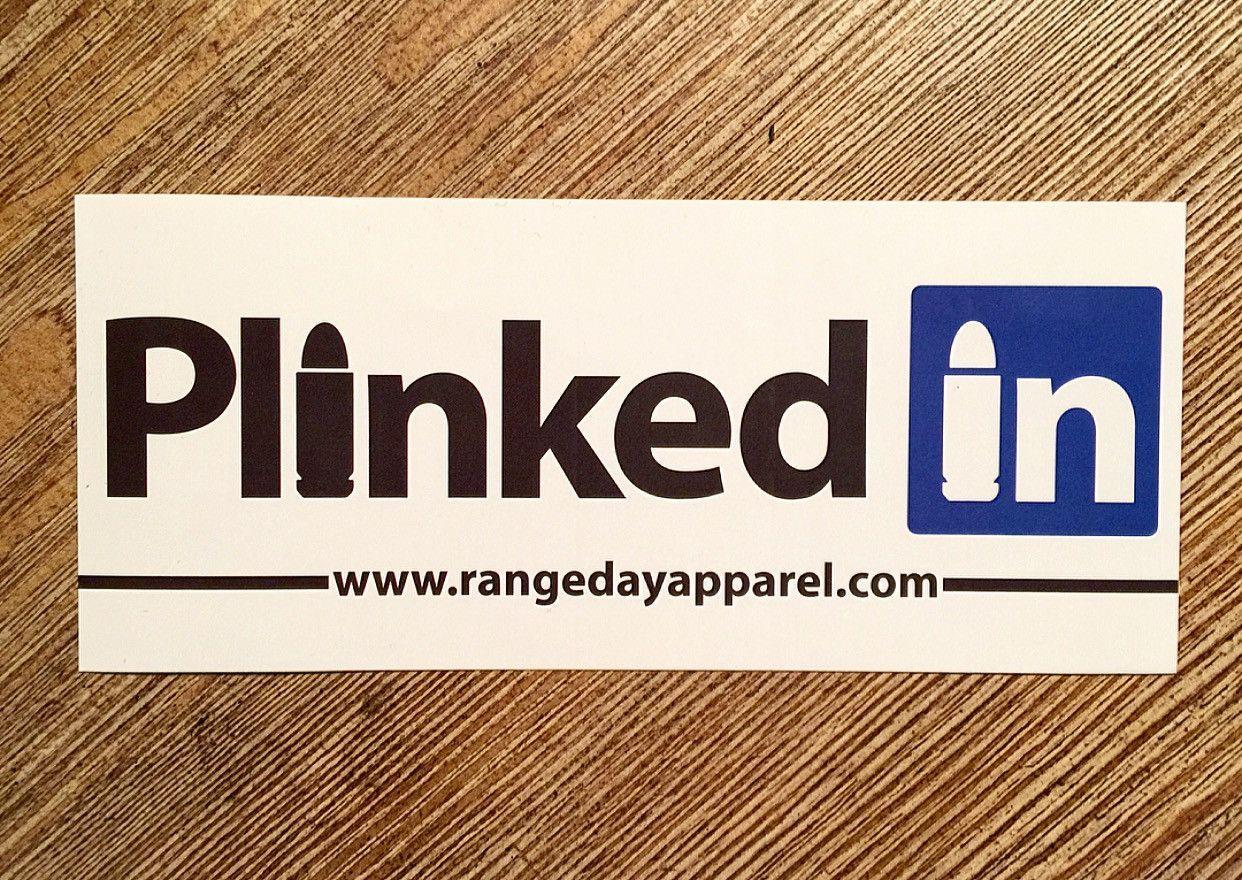 Plinked In Sticker