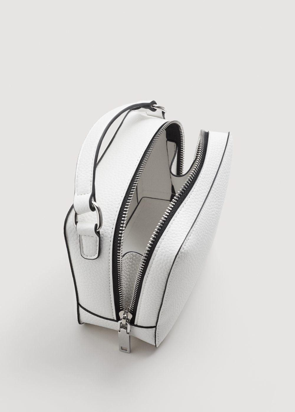 79c8f45c1588e Mini cross-body bag | MANGO Colour:White Composition:100% polyurethane #bag  #white #mango #spain #fashion #inspiration #spring #summer #accessories  #style # ...
