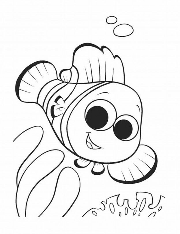 Free Printable Nemo Coloring Pages For Kids Finding Nemo Coloring Pages Nemo Coloring Pages Cartoon Coloring Pages