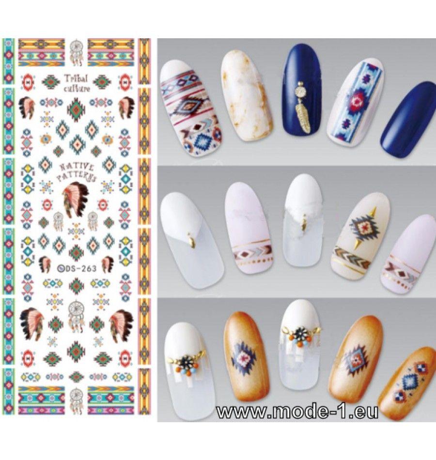 Nagel Aufkleber Nr 7 | Beauty - Schönheitspflege | Pinterest | Nagel ...