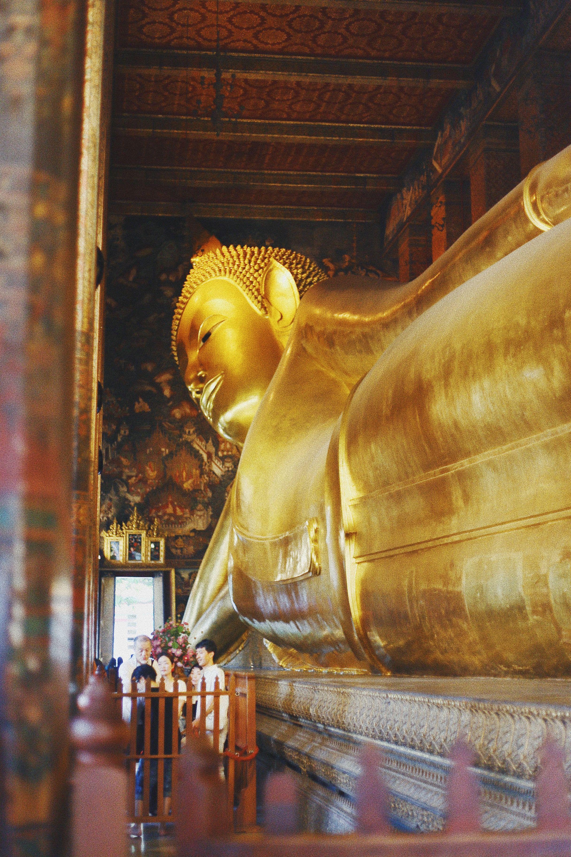 Amber Simpson Videos wat pho, bangkok, thailand   reclining buddha, thailand