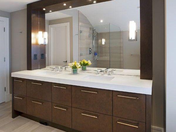 lighting Bathroom interior Pinterest Bathroom vanities