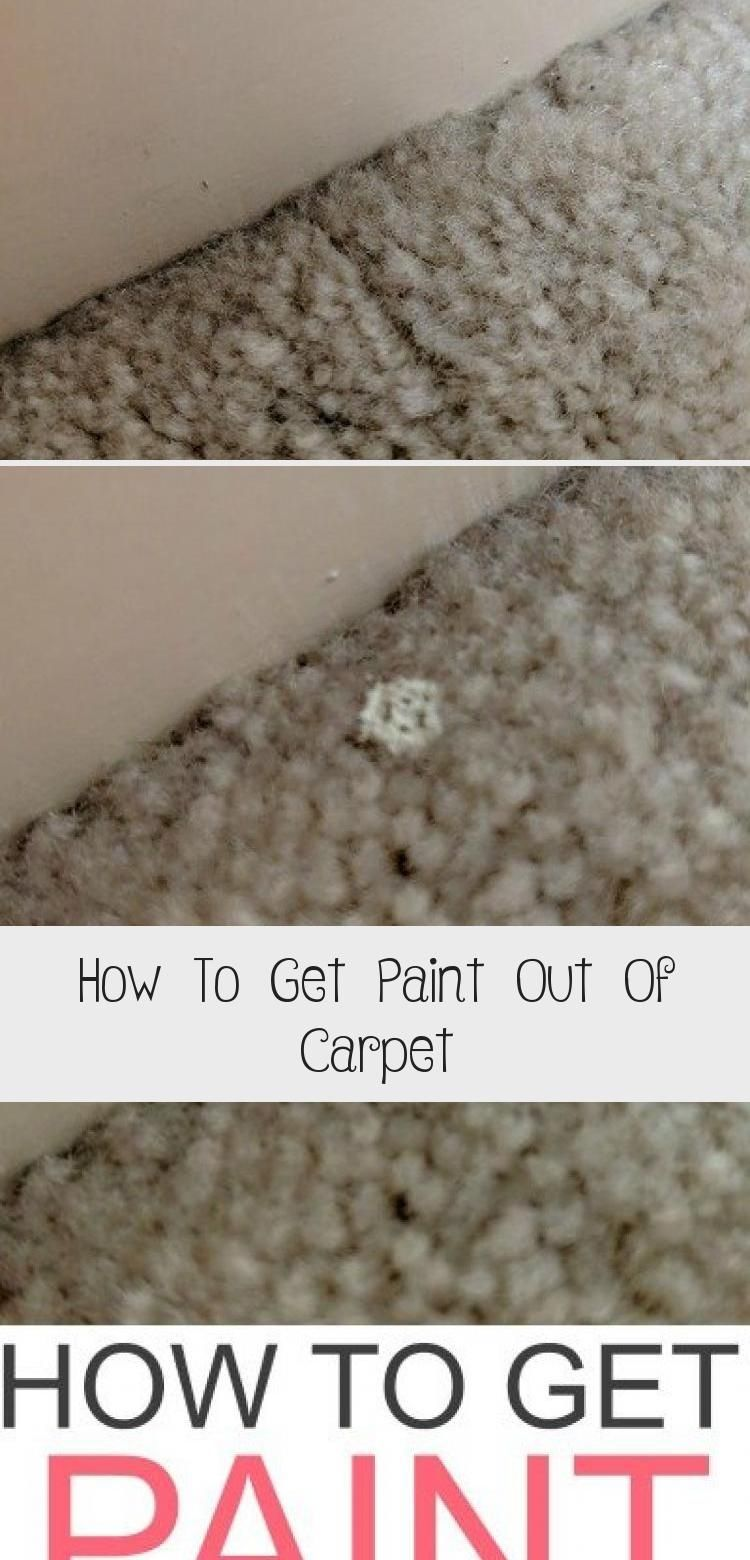 Dealing With Paint Stains In The Carpet Check Out How To Get Paint Out Of Carpet Like A Pro Easily Homemade Carpet Stain Remover Carpet Stain Remover Carpet