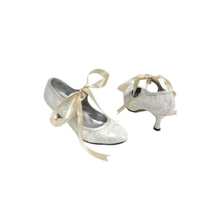 Euphoria Boutique Vintage Ivory Lace Wedding Shoes