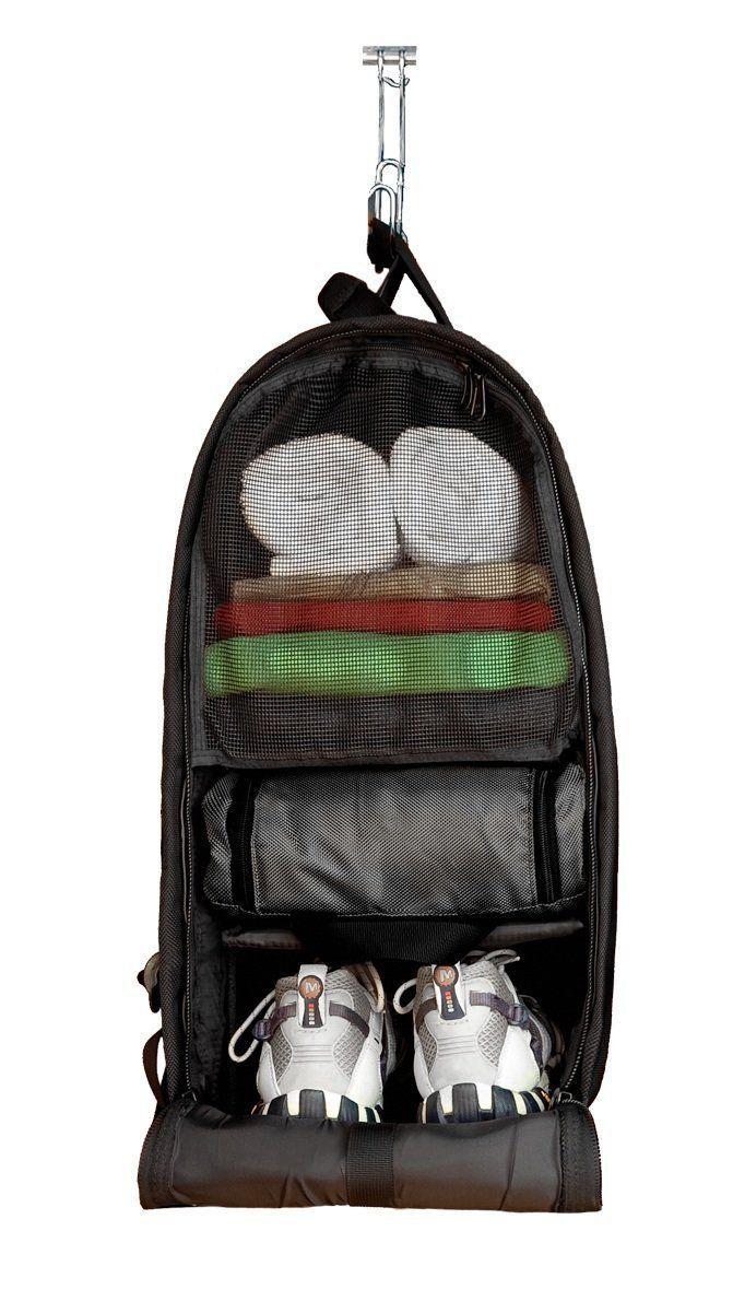 The Glo Bag Ultimate Gym Locker Organizer Backpack Diy Fitness Hacks Essentials