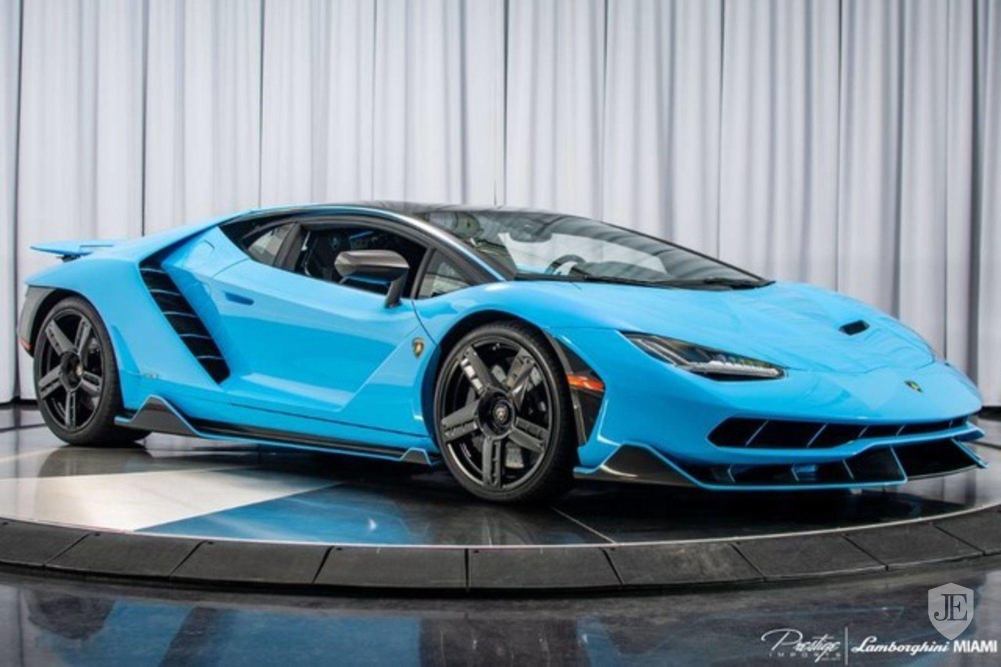 Who Fancies A Bright Blue Centenario?
