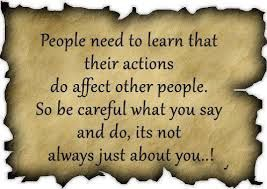 Actions Have Consequencesstop Blaming Others For The Consequences