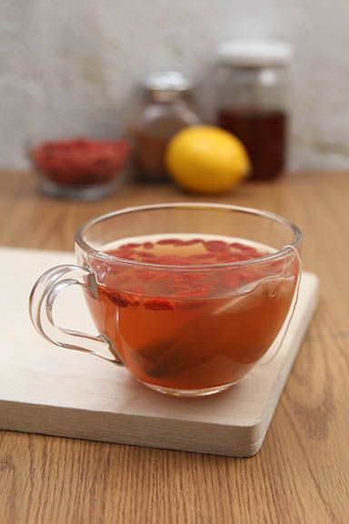 A Cup Of Goji Berry Cleansing Tea