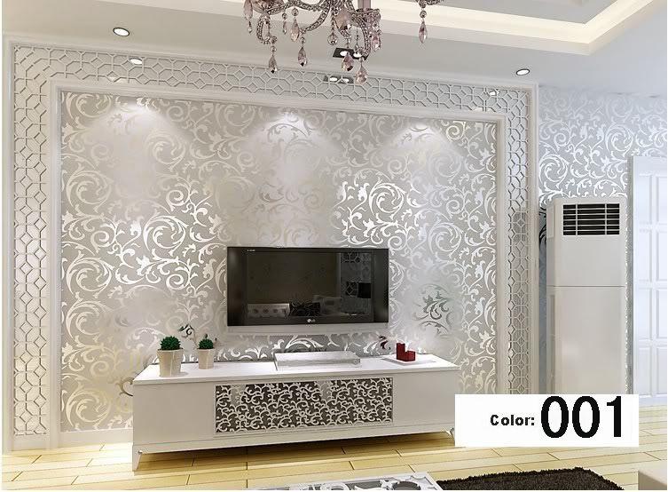 3d em relevo papel de parede para sala moderna de prata e cinza listrado papel de parede rolo de - Cucina birichina quarto ...