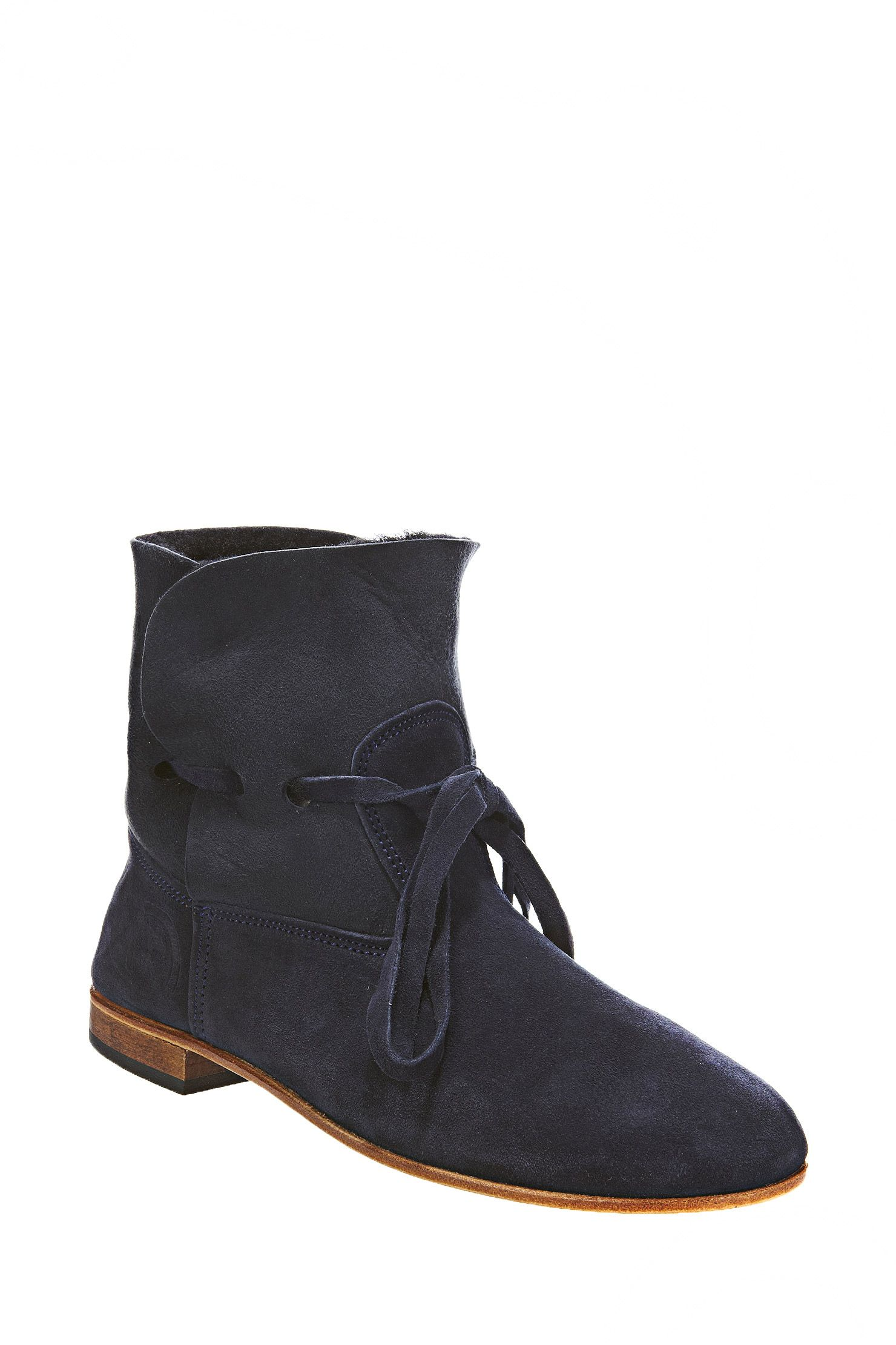botas - cheyenne velours - azul / marina de guerra la botte