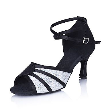 Latin shoes, Sparkly high heels