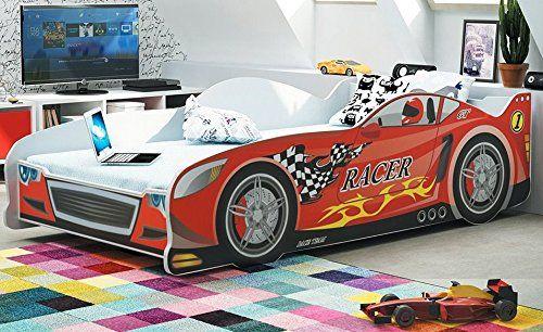 Letto A Forma Di Automobile : Letto a forma di macchina per bambini 160x80 con materasso euro 156