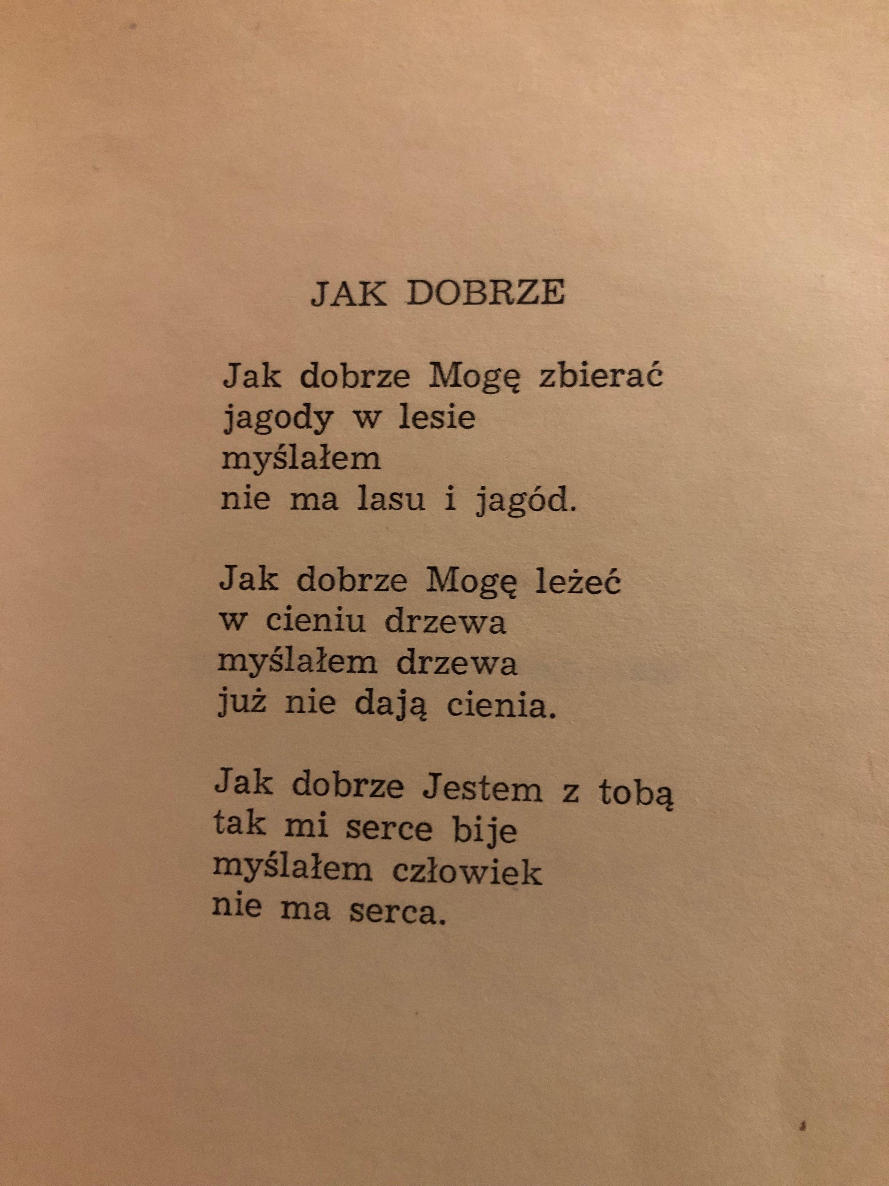 Różewicz Wiersze Poezja I Cytaty życiowe