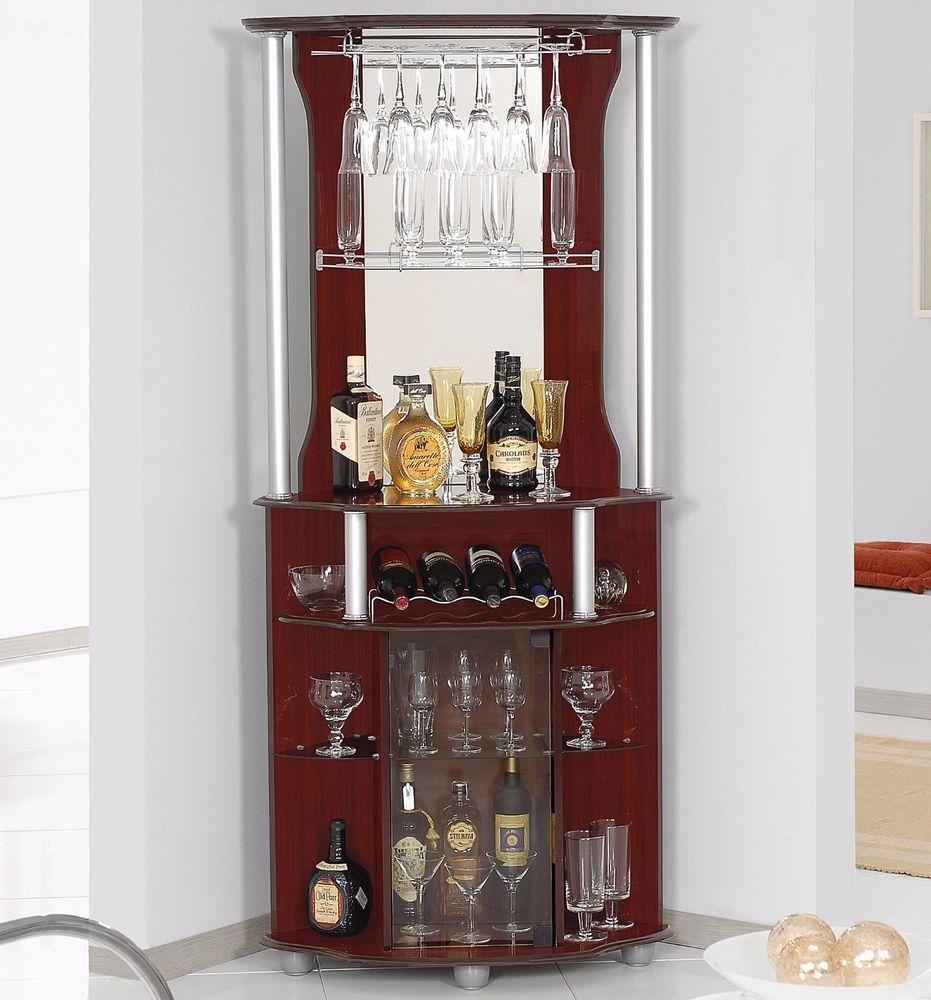 corner bars furniture. Bar Cabinet Corner Home Bottle Storage Wine Rack Liquor Pub Furniture Stemware #Hodedah   Great And Other Finds Pinterest Rack, Bars