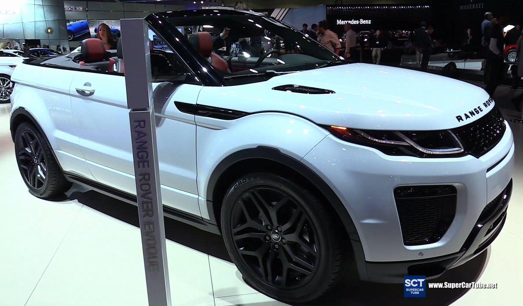 2017 Range Rover Evoque Convertible Exterior and
