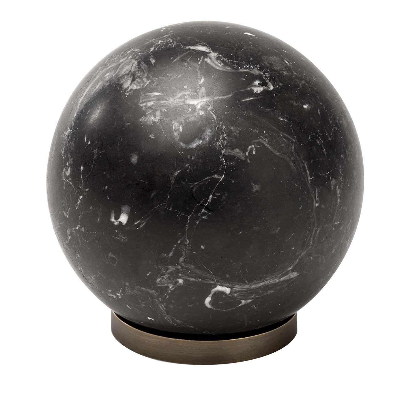 Black Gravity Sculpture In