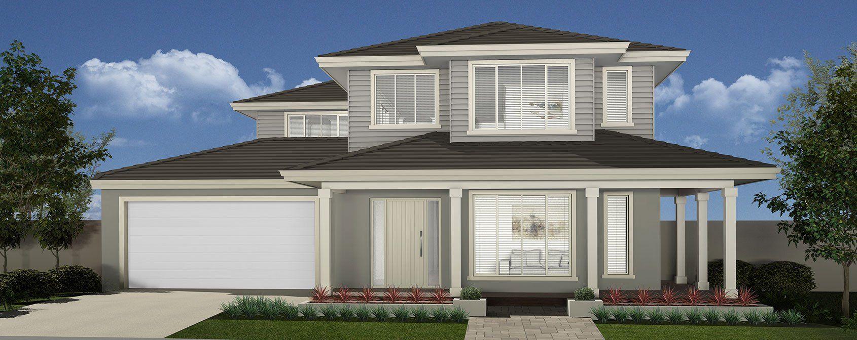 Luxury 2 Storey Homes Toorak Mojo Homes Double Storey House