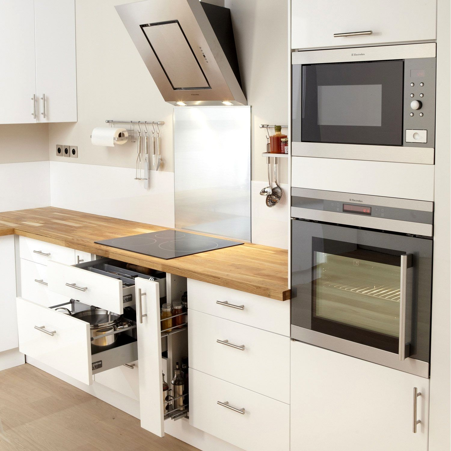 Meuble Pour Cuisine Ideas In 2020 Small Kitchen Cabinets Kitchen Interior Scandinavian Dining Room