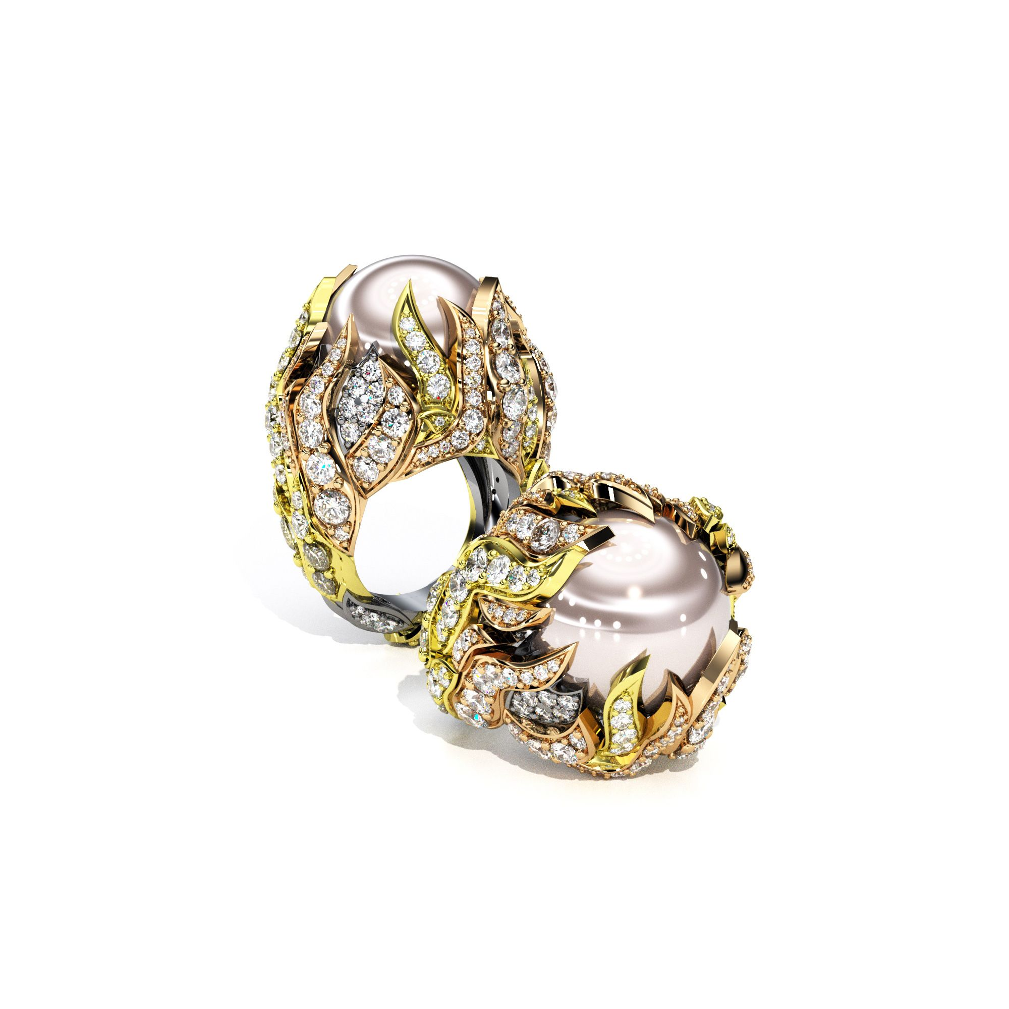30++ Pearl wedding rings near me ideas