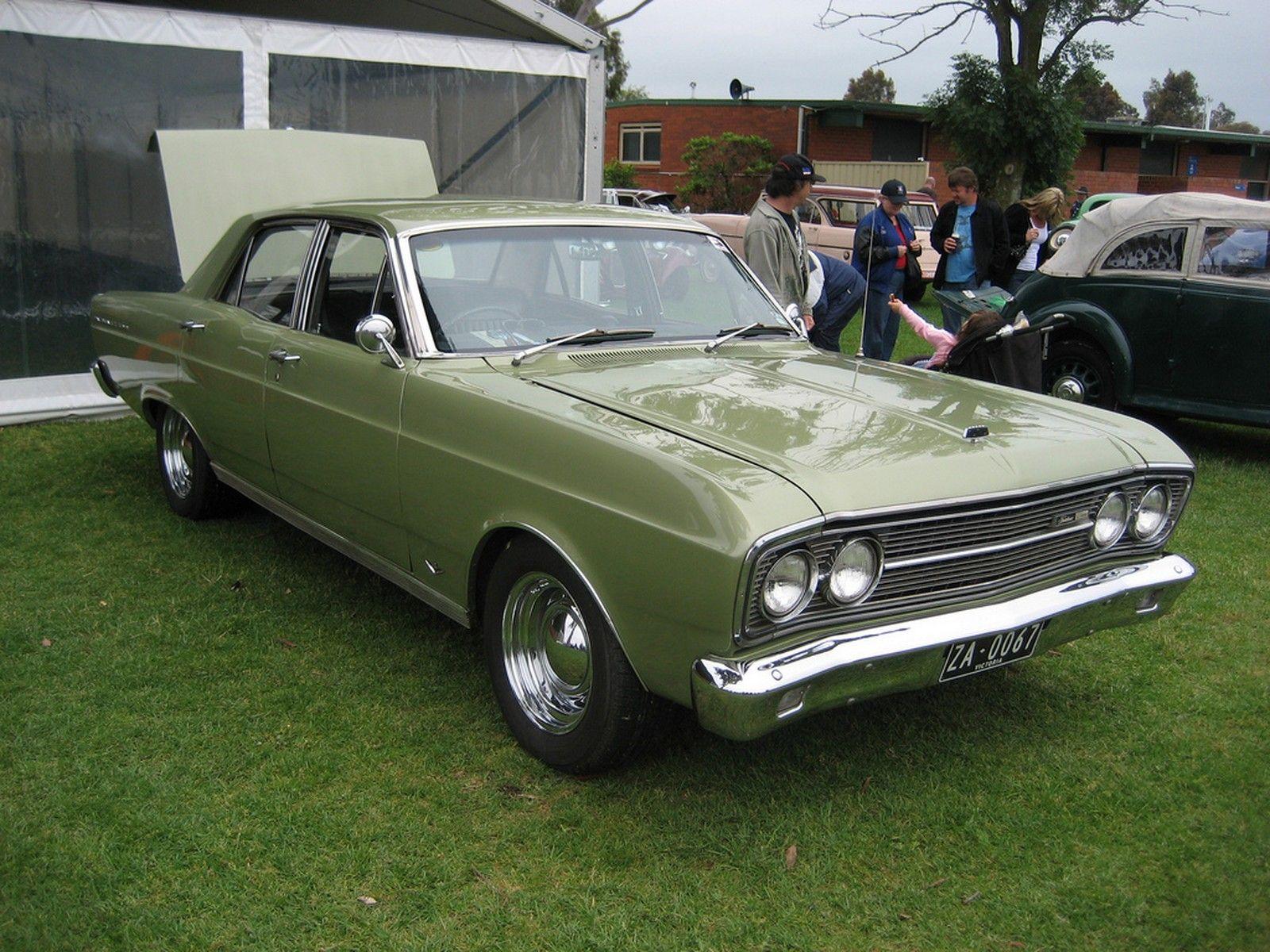 1967 Ford Za Fairlane 500 Australian Cars Aussie Muscle Cars
