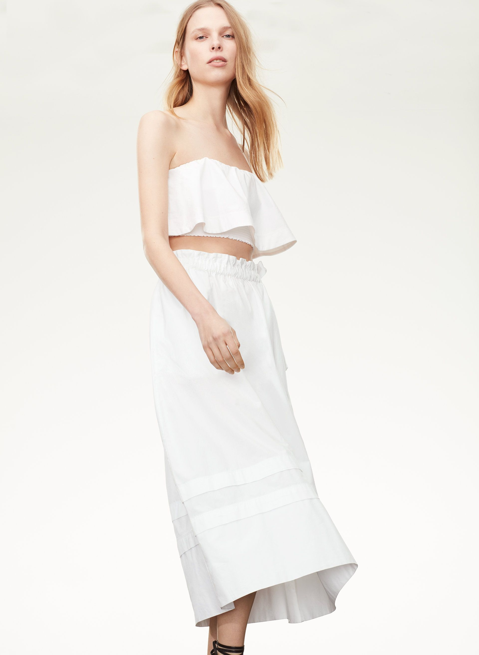 6c34ad0dd1 Le Fou Wilfred CHAMBLY SKIRT   Aritzia   Tulum   Skirts, Strapless ...