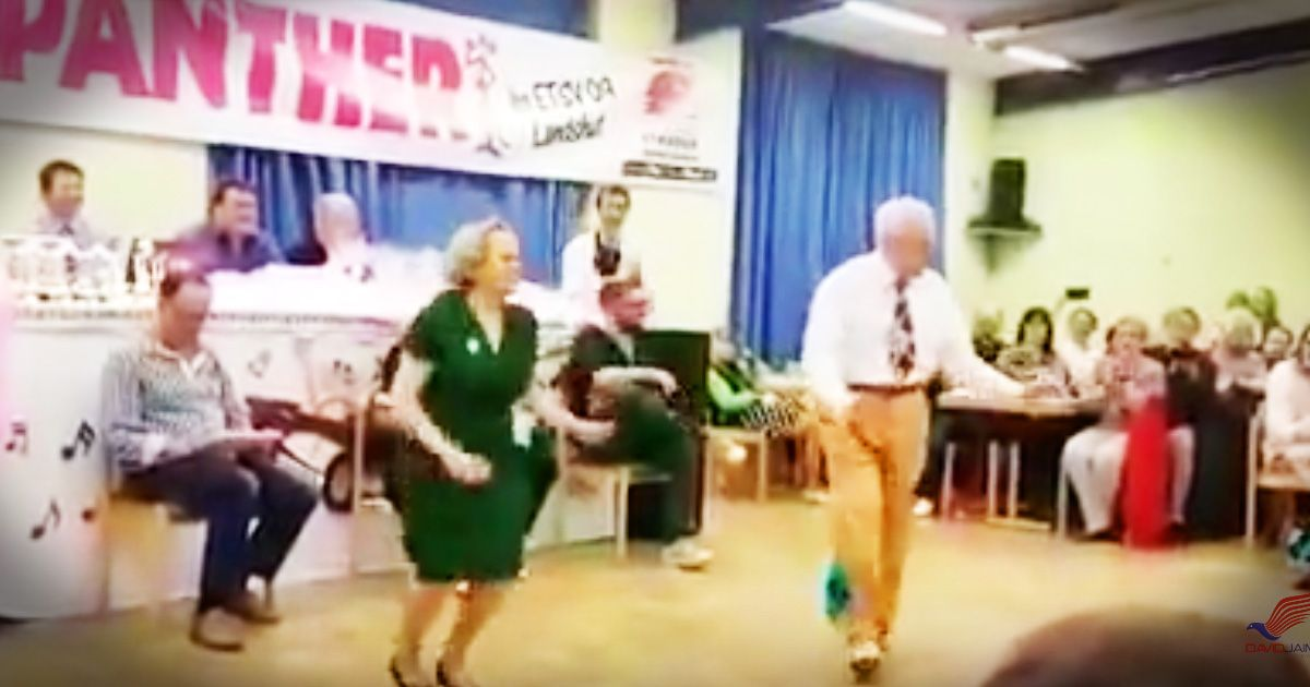 When this sweet older couple took the floor folks expected a sweet and probably slow dance. So when this couple started busting out some truly incredible swing moves jaws dropped. This dance routine is truly impressive! And seeing these two rocking their dream is such a great reminder that age is ju