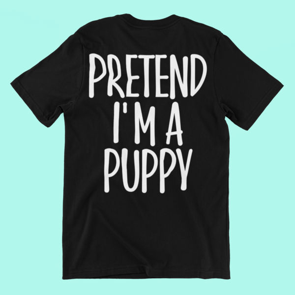Fun Halloween Gifts Ideas for Men/Woman - Pretend I'm Puppy T-Shirt. Amp up collection of accessories: decorations, jack o lantern lights, boo heart, hat, diy, cap. This Tshirt - Surprise for ghost, spiders gal, zombie, wife, grandma, animals lover, parents on Midnight Moon party, Scary night party. #mamp;mcostumediy Fun Halloween Gifts Ideas for Men/Woman - Pretend I'm Puppy T-Shirt. Amp up collection of accessories: decorations, jack o lantern lights, boo heart, hat, diy, cap. This Tshirt - Su #mamp;mcostumediy