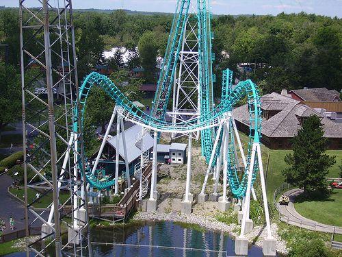 Boomerang Darien Lake Amusment Parks Rides Lake Fun