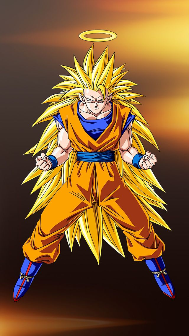Super Saiyan 3 iPhoneWallpaper and Background Dragon