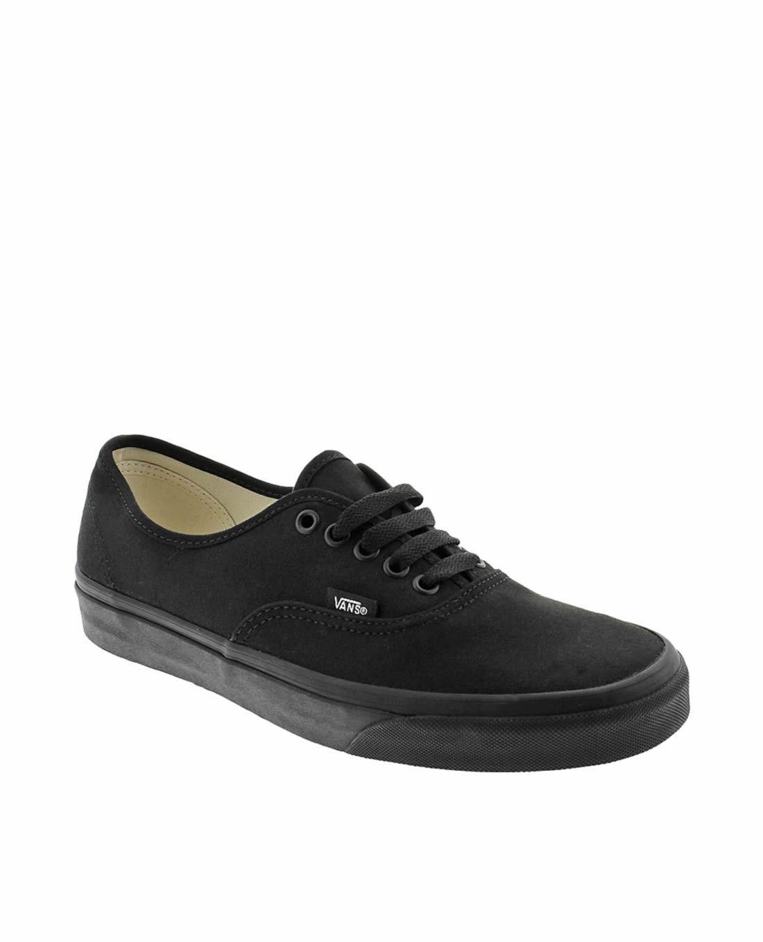 zapatillas vans negro