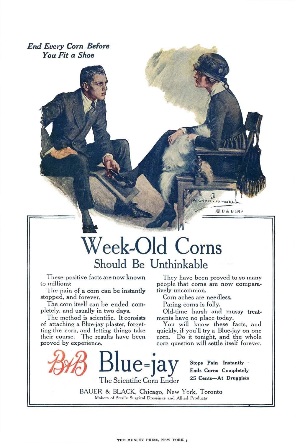 Bauer and Black - All Story Weekly, June 14, 1919