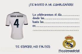 Resultado De Imagen De Invitaciones Del Real Madrid Para