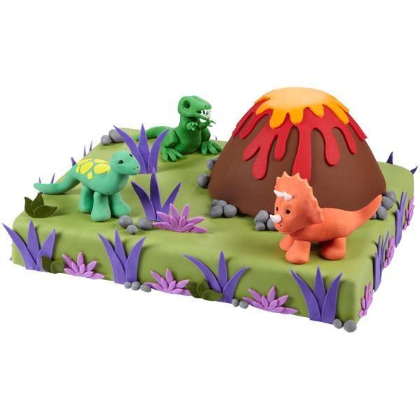 Dinosaur Birthday Cake Wilton: Dinosaur Cake Tutorial