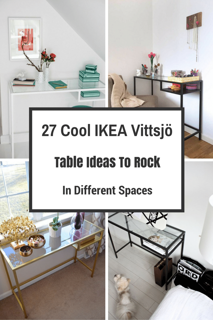 27 cool ikea vittsjo table ideas to rock in different - Cocina portatil ikea ...