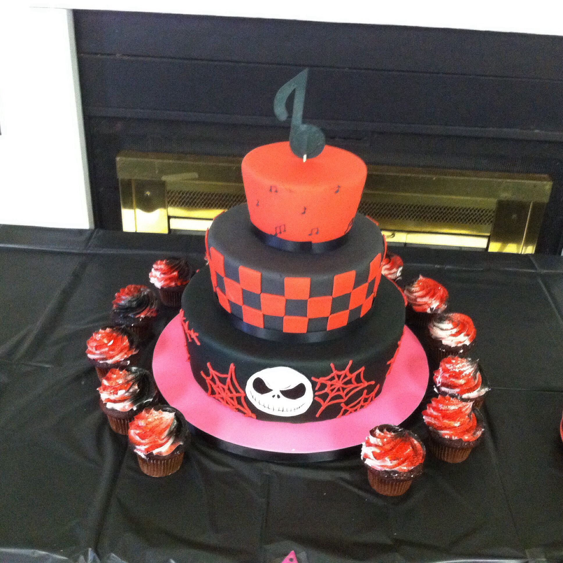 Sweet 16 party cake done by CHARM CITY CAKES!