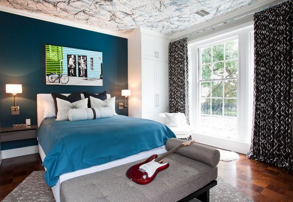Teens Boys Room Ideas With Unique Ceiling Ideas Boy Room Paint