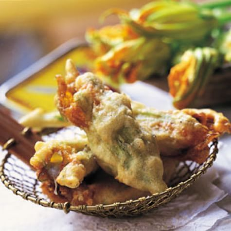 Fiori Fritti.Fried Stuffed Zucchini Flowers Fiori Di Zucca Fritti Recipe