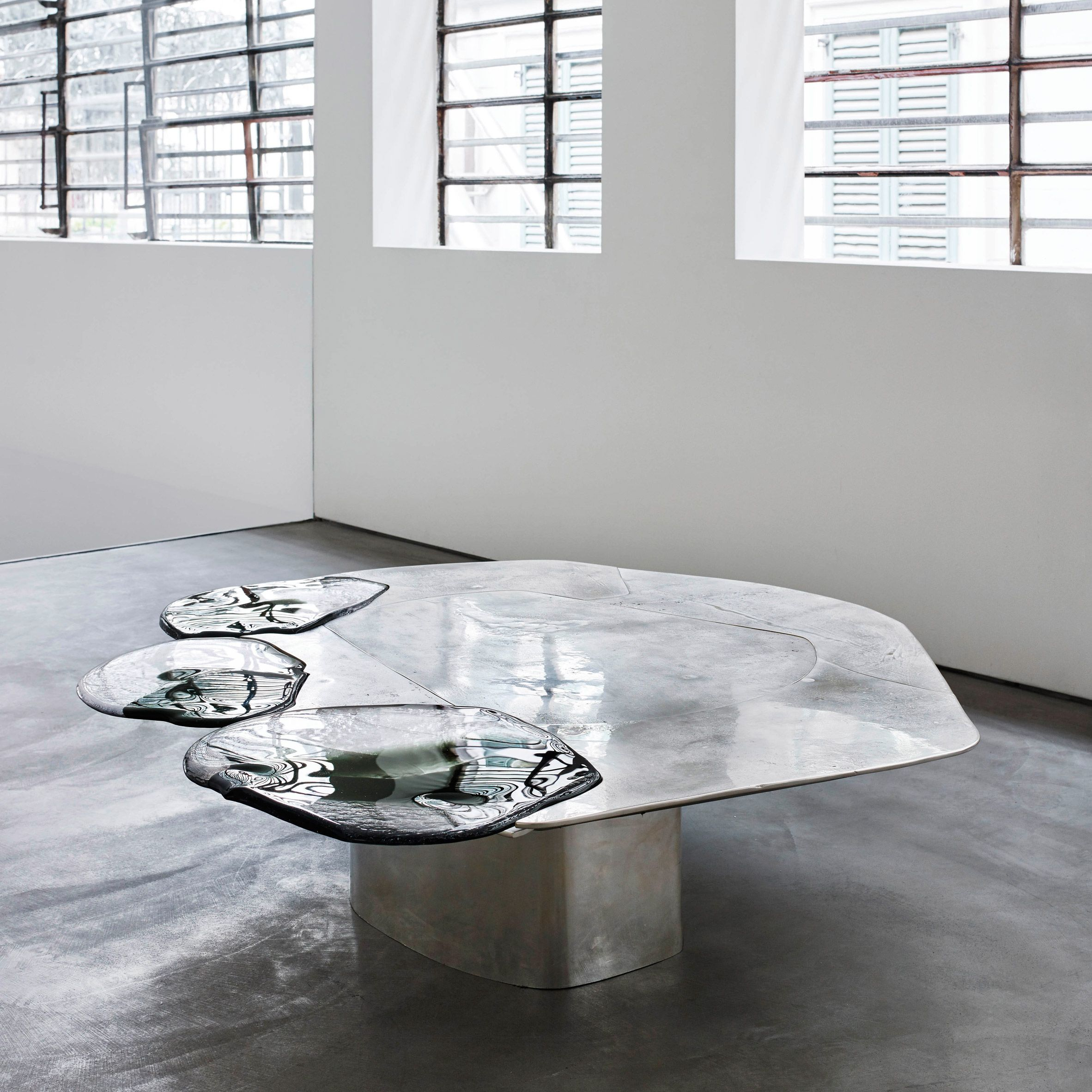 glass form furniture de cotiis pinterest pools of metal and glass form vincenzo de cotiis baroquisme furniture surfaces found in this