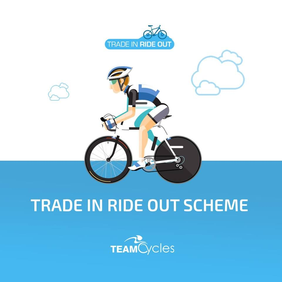 Trade In And Ride Out With Team Cycles Trade In Your Bike And