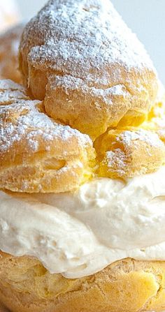 Photo of The Best Italian Cream Puffs with Vanilla Ricotta – Feeling Foodish