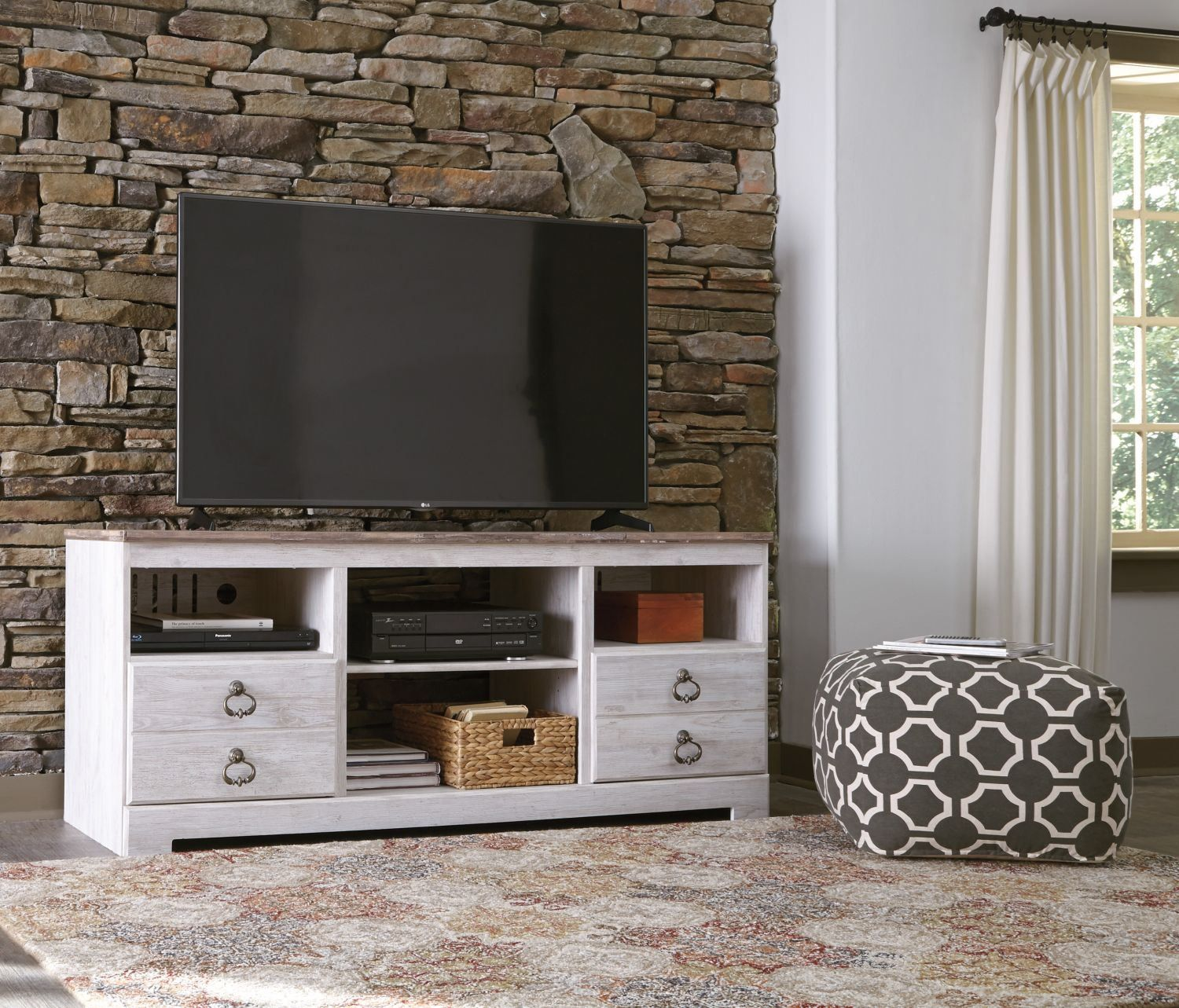 Willowton Tv Stand Fireplace Optional In 2021 Fireplace Tv Stand Fireplace Entertainment Fireplace Furniture