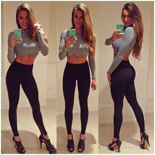 Hot Black Girls In Yoga Pants